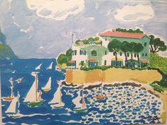Sailboats by John Botz