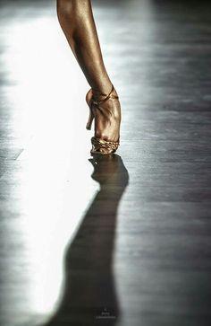 The feet.