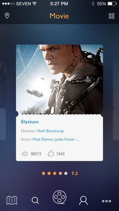 Moviem, #ui #ux #design #mobile #app