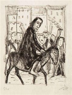 Entrance to Jerusalem By Otto Dix