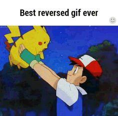 New trending GIF tagged pokemon pikachu bye goodbye reverse. Funny Shit, Funny Jokes, Freaking Hilarious, Funny Stuff, Pokemon Funny, Pokemon Go, Memes Humor, Ash E Pikachu, Pikachu Memes