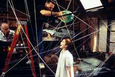 Lindsay Lohan, The Parent Trap. | 27 Awesome Behind-The-Scenes Photos From '90s Movies