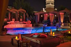 Just got back from Las Vegas. This is the TAO pool at the Venitian / Palazzo hotel. What a beautiful, serene place to visit. I wish I was still there!