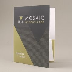 Mosaic Associates Architects - Pocket Folder
