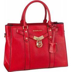 Red Handbag, Michael Kors Hamilton, Satchel, Handbags, Organizer, Shopping, Accessories, Products, Baby Born