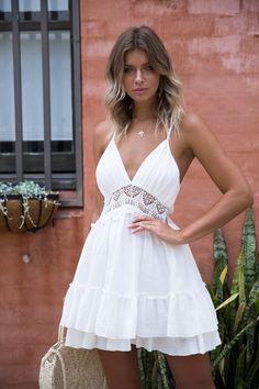 KLUM DRESS - White