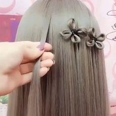Do you like this hair tutorial? Girl Hairstyles, Braided Hairstyles, Curly Hair Styles, Natural Hair Styles, Natural Hair Tutorials, Hair Arrange, Pinterest Hair, Crazy Hair, Hair Videos