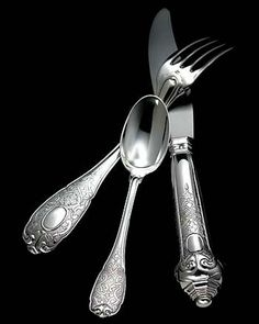 """""""Elysee"""" Dinner Knife - Puiforcat"""