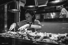 Lo street food dal mondo è in bianco e nero