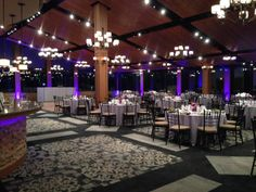 Another View Of The Ballroom At Blue Mountain Www Skibluemt Uplighing Provided