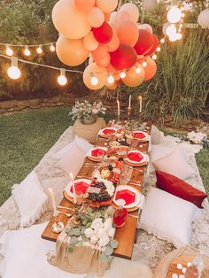 A Backyard Bohemian Dinner Party - Life By Leanna Dinner Party Decorations, Dinner Party Table, Engagement Party Decorations, Birthday Decorations, Bohemian Party Decorations, Boho Party Ideas, Elegant Dinner Party, Bohemian Birthday Party, Backyard Birthday Parties