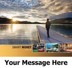 2016 Smart Money - Financial Planning - Promotional Calendar Cover. Imprinted with your Business, Organization or Event Name and Logo As Low As 65¢.