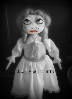 One of a Kind  Bette Davis/Whatever Happened to Baby Jane doll by Joyce Stahl Ghoultide Gathering 2016