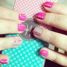 CND   Shellac   Nail Art   Glitter