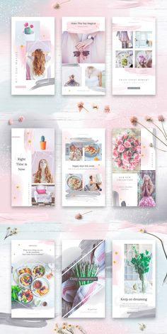 This Instagram Stories Pack includes 24 design templates in watercolor theme. These templates are customizable with Adobe Photoshop CS and newer, and Photoshop CC. You just need to insert your photos and change the text! Flyer Design Inspiration, Instagram Story Template, Good Jokes, Ig Story, Design Templates, Instagram Accounts, Adobe Photoshop, Free Photos, Banners