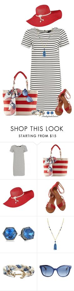 """""""Picnics & Parades"""" by honkytonkdancer ❤ liked on Polyvore featuring Atterley, ALDO, Kenneth Cole, Stella & Dot, Brooks Brothers, Fendi and memorialday"""