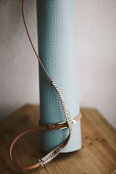 Hazelnut Yoga Mat Strap by LaedaCo on Etsy LAEDA.CO