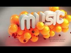 MUSIC 3D intro Animation- Cinema 4D - audio visualization Cinema 4d - YouTube Psy Gangnam Style, 3d Typography, Motion Video, Maxon Cinema 4d, Moving Pictures, Glitch, Motion Graphics, Graphic Illustration, Audio