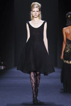 Badgley Mischka Ready To Wear Fall Winter 2015 New York