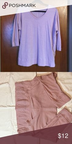 Lane Bryant Top, Size 14/16 Lane Bryant pink/mauve top, 100% cotton, size 14/16. Great used condition. Smoke free home. Lane Bryant Tops Blouses