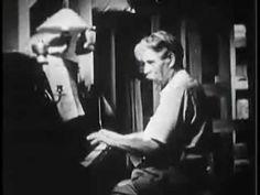 Albert Schweitzer: practising Bach in Lambarene (original footage) - YouTube