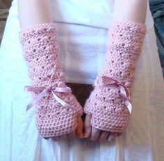 Wristwarmer Crochet PATTERN, oh I like