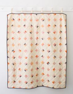 Tiny Tile quilt Pattern from Purl Soho - Free Pattern #free #quilt #pattern