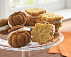 Fun idea - mini cookie stamps for sandwich cookies