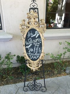 Black and gold colors for this bridal shower. Winery Bridal Showers, Art Quotes, Colors, Gold, Black, Black People, Colour, Color, Hue