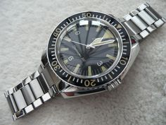 1968 'Big Triangle' Omega Seamaster 300 165.024