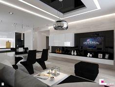 Salon styl Nowoczesny - zdjęcie od CUBE Interior Design - Salon - Styl Nowoczesny - CUBE Interior Design