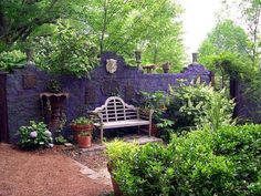 Image result for garden walls painted