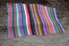 Mitt neste strikkeprosjekt - Arne og Carlos pledd.