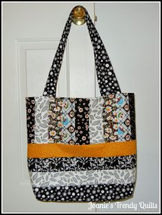 Joanie's Trendy Quilts: Basically Black and White