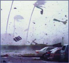 We survived hurricane Iniki . Kauai , Sept 11, 1992
