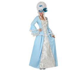 Disfraz de Veneciana Época Azul #disfraces #carnaval