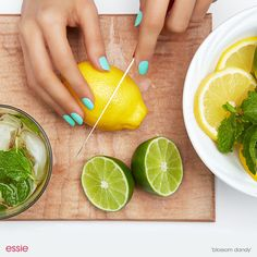 Now that's a refreshing mani.
