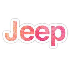 'Jeep Logo' Sticker by Jeep Stickers, Macbook Stickers, Phone Stickers, Planner Stickers, Kawaii Stickers, Macbook Pro, Jeep Wallpaper, Wallpaper Iphone Cute, Laptop Wallpaper