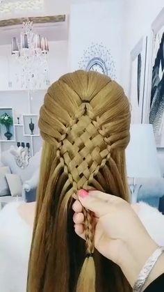 Cute Hairstyles For Medium Hair, Braided Hairstyles Updo, Up Hairstyles, Hair Up Styles, Medium Hair Styles, Natural Hair Styles, Braids For Long Hair, Wavy Hair, Et Tattoo