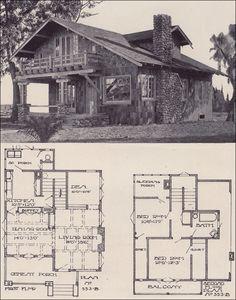 1921 Bungalow Cottage Hip Roof Simple 1 Bedroom Home Vintage
