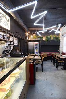 Marzua: Rayos y Centellas Sandwich Club por LIQE Arquitect...