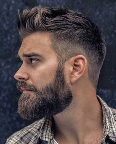 Here we have compiled our top hairstyles and haircuts for mens for There are so many haircut options in mens' hairstyles, as you can see here the beauty of undercut short hair for mens and boys. Smart Hairstyles, Trendy Mens Hairstyles, Hairstyles Haircuts, Mens Hairstyles With Beard, Short Hair Undercut, Undercut Men, Short Hair Cuts, Undercut With Beard, Popular Haircuts