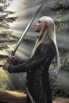 The dashing debonaire Elven King - Thranduil of Mirkwood