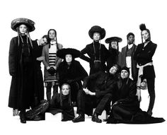 Jean Paul Gaultier  - 1993 collection inspired by Orthodox Jewish clothing.