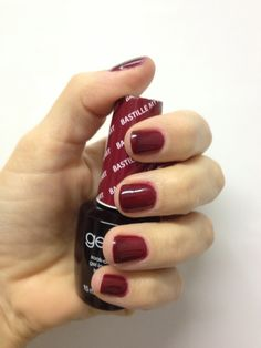 All-time favorite manicure: OPI Axxium Gel in Bastille My Heart