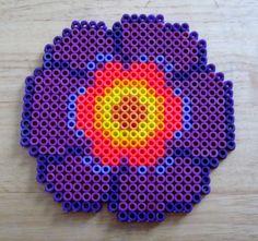 Wall Flower perler beads by Mango Mayhem