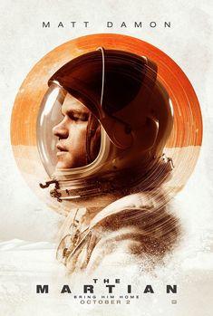 Pôster Perdido em Marte - Os melhores pôsteres do cinema em 2015
