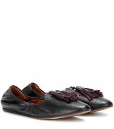 Leather slippers | Lanvin