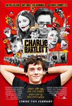 Charlie Bartlett (2007) Kat Dennings and Robert Downey Jr. and whoever the guy who plays Charlie is. All wonderful :)