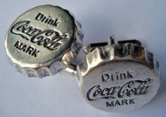Cola Pewter Cufflinks Pair Gift Box Included by Mancornas on Etsy, $19.95  For the groom?